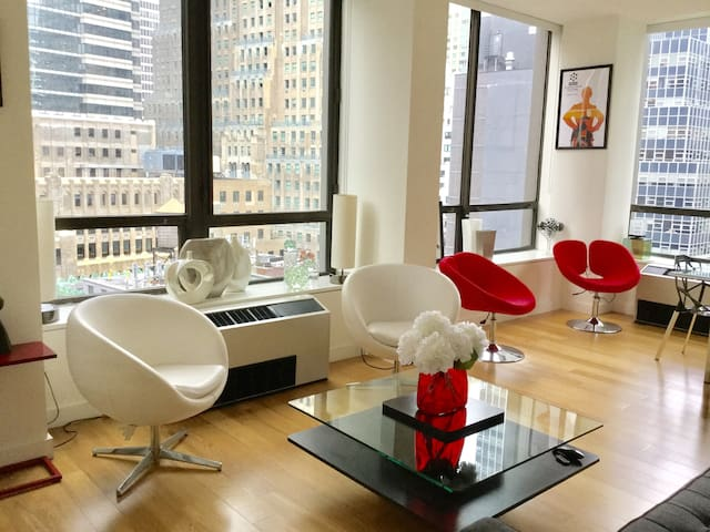 Financial Dist. Luxury Apt/Private Bath/Breakfast - New York - Appartamento
