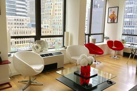 Financial Dist. Luxury Apt/Private Bath/Breakfast - นิวยอร์ก - อพาร์ทเมนท์