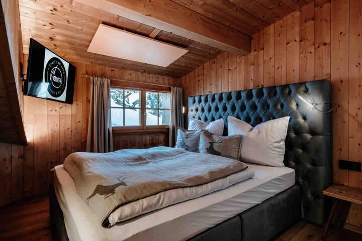Doppelzimmer mit Bergblick, Sauna, Skiinskiout 4