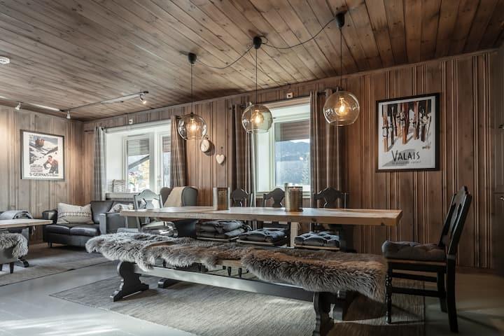 Romslig og delikat rett ved Norges beste skianlegg
