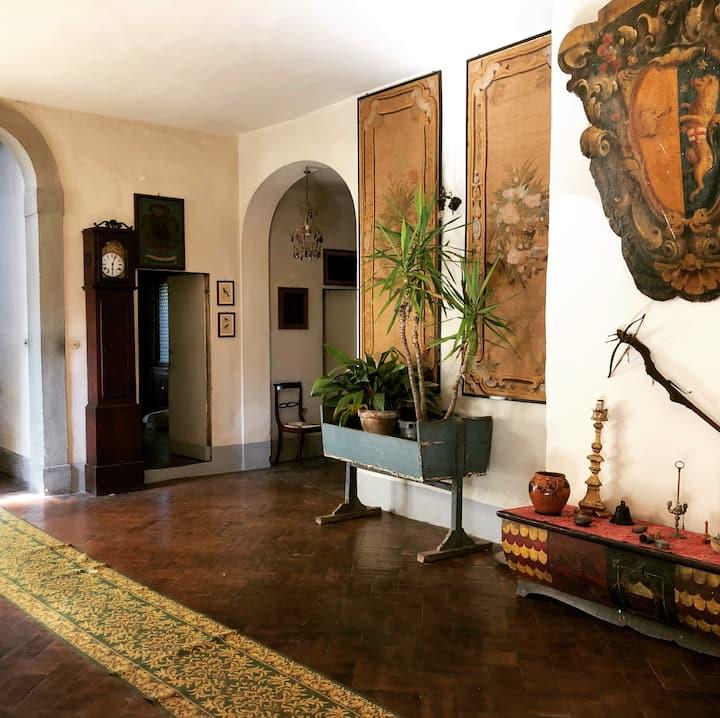 Stanze private in villa antica