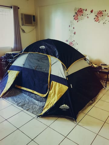 A tent in living room客厅帐篷 - Barrigada - Apartment
