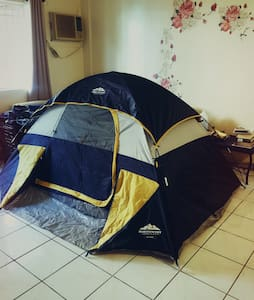 A tent in living room - Barrigada