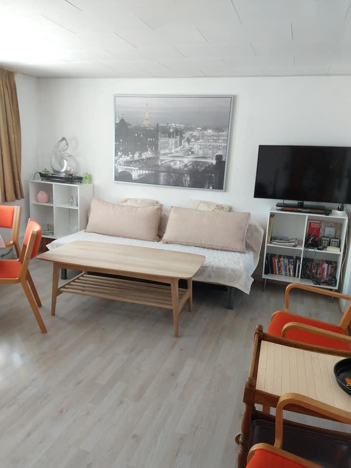 Hyggelig indrettet 2 værelses lejlighed i Ålbæk.