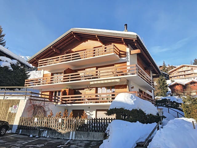Blaireau 2, Quiet location and close to the ski slope Les Moulins