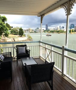 River location 2.5k to CBD - Norman Park - Apartment