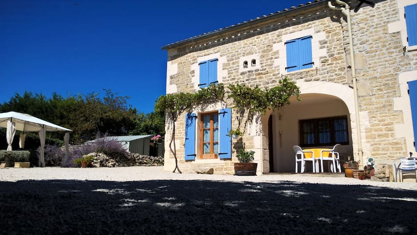 Spacious Gite with pool in quiet Hamlet