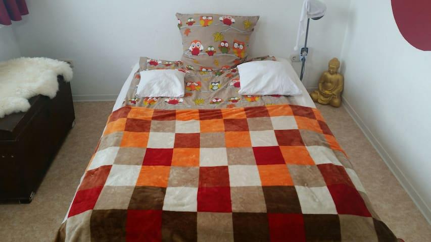 TOP Schlafzimmer in gemütlicher Wohnung  :>)  (<: