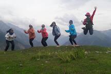 Trekking in Kashmir Himalaya