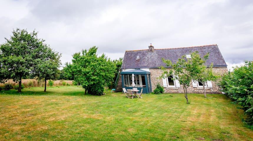 Hameau de Cosclun (cottage) - Langonnet - Casa