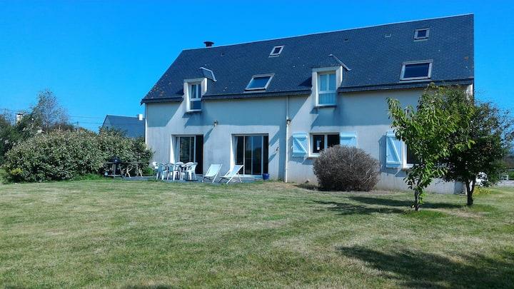 Maison avec grand jardin 300m plage de Jonville