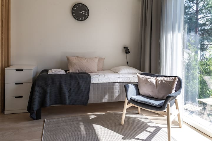 Fresh studio apartment in Martinlaakso