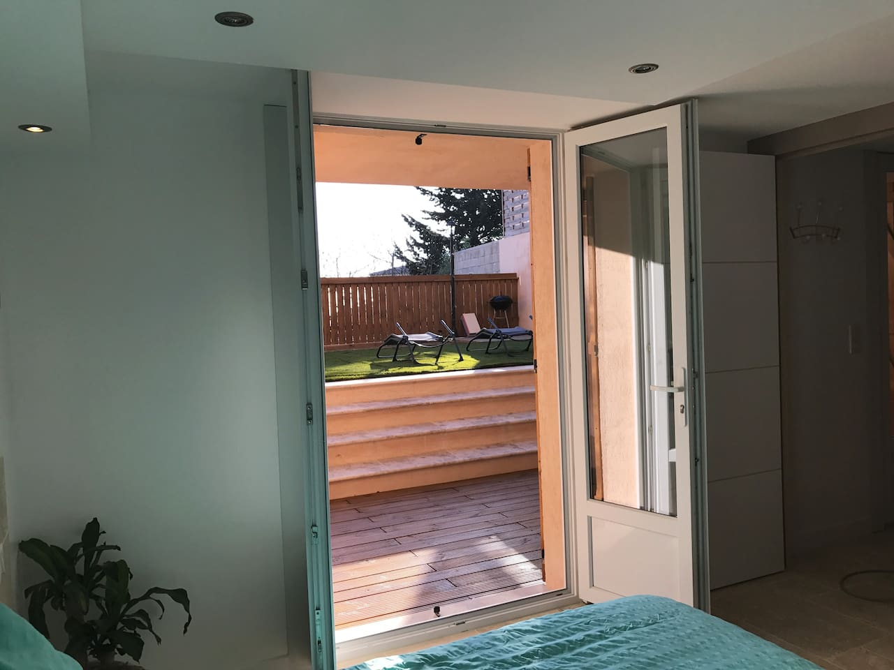 Brand new flat with a big terrace fully equipped apartments for rent in vallauris provence alpes côte dazur france