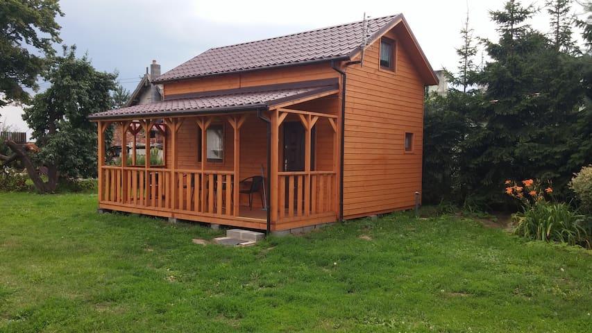 Drewniana chatka nieopodal morza - Gdańsk - Kulübe