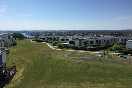 Luxury apartment with great views. Skanderborg