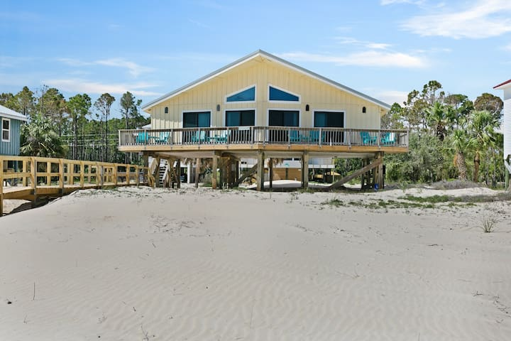NEW LISTING! Dog-friendly beachfront home w/ panoramic ocean views from sundeck