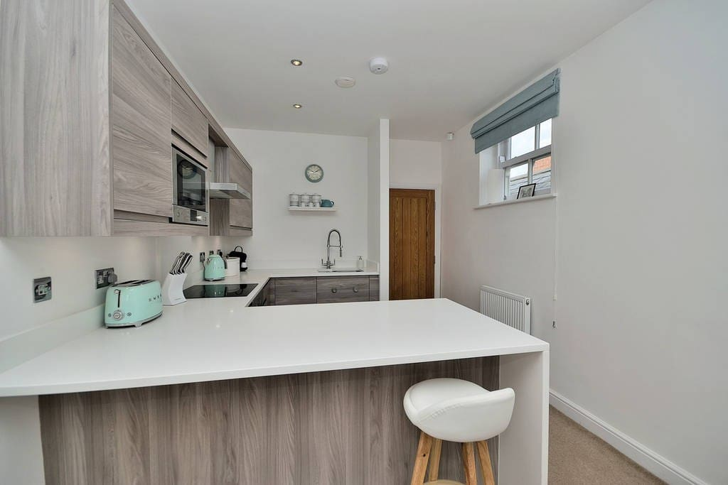 Martin, July 2017:  'Great apartment and even better location. Very clean and modern with great space. Walking distance to all of chesters landmarks and easaily accessible by car. Would highly recommend it'.