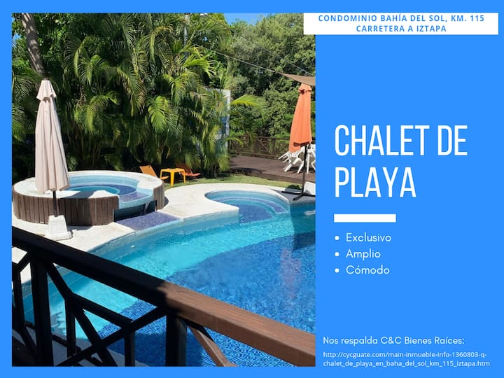 Chalet de Playa, Bahía del Sol - ¡Exclusivo!