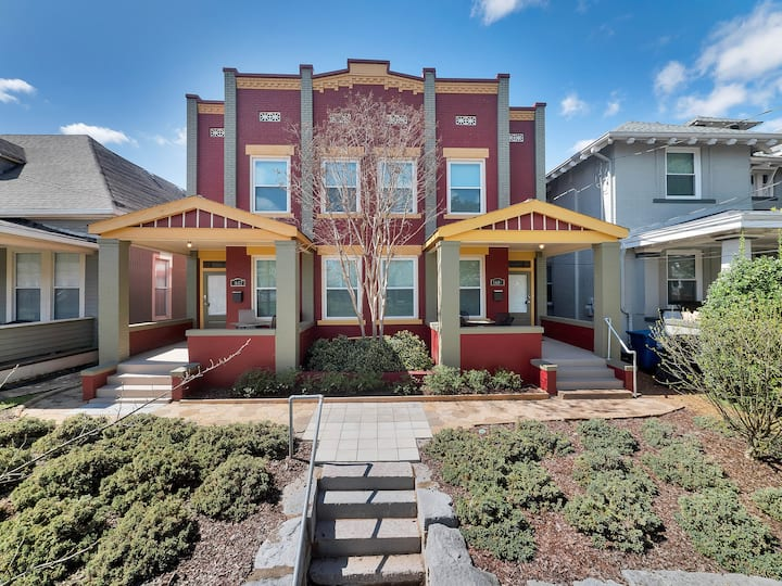 Unique upstairs king bd home in Southside (3bd/2b)