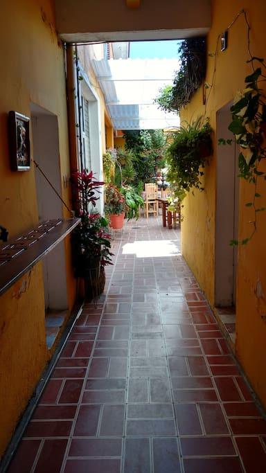 Pintoresca y bella propiedad, con un ambiente agradable y familiar.