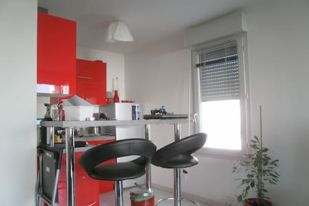 Appartement t2 40m2 + terrasse et parking - Meyzieu - アパート