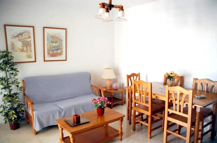 Apartment with 3 bedrooms in Puerto de Mazarrón, with terrace and WiFi - 50 m from the beach