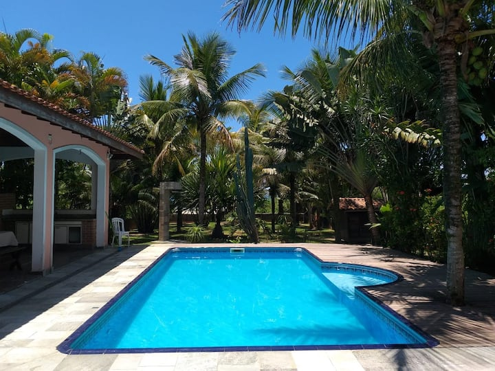 "Villa ""Boramar"" on the beach with private pool."
