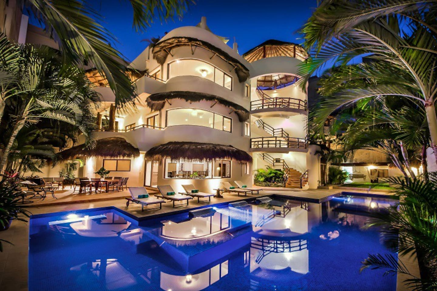 Mirasol 9 br estate downtown playa houses for rent in playa del carmen quintana roo mexico
