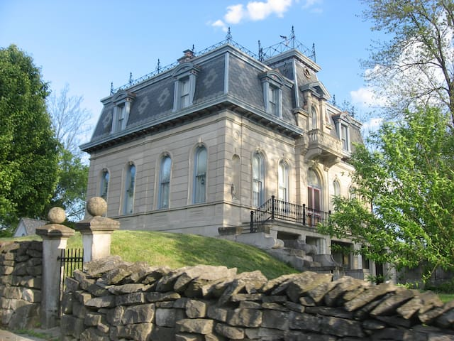 Historical Limestone Mansion