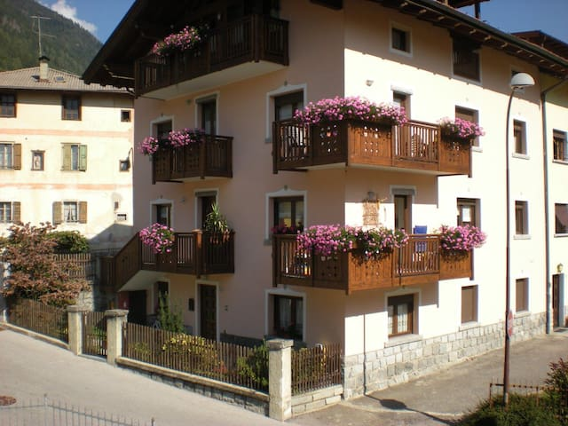Sunny appartment near Pinzolo - Pelugo - Byt