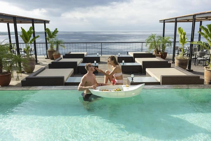 Ocean View Penida 1 Deluxe Pool Breakfast WArna