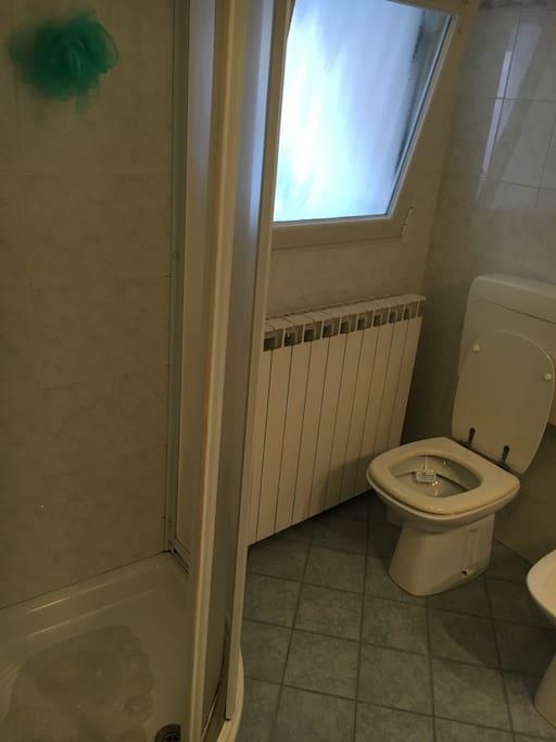 Doccia e wc
