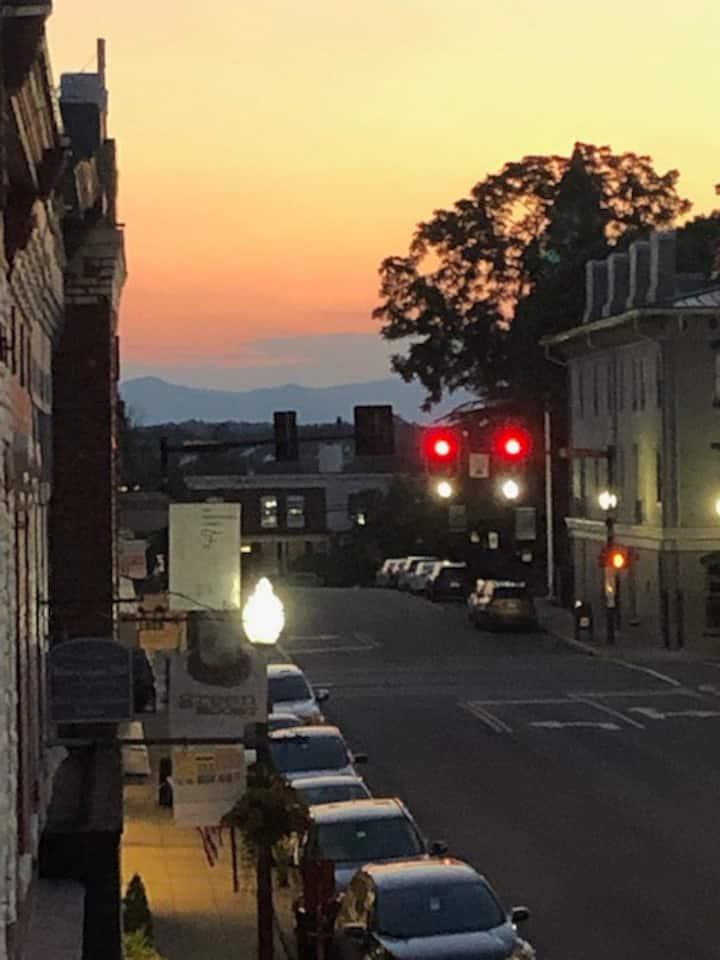 Downtown Culpeper Penthouse Loft & Mountain View's