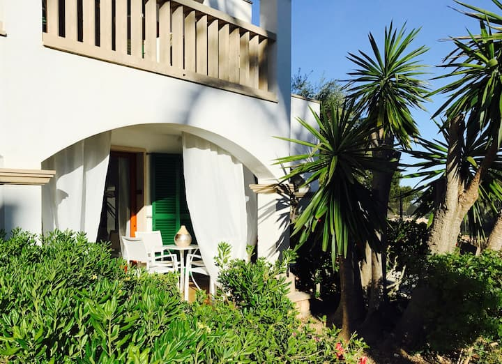 Great apartment, 100 meters to the fantastic beach