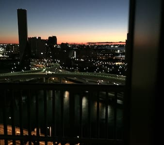 Great view in Odaiba. Xiao's room. - 港区