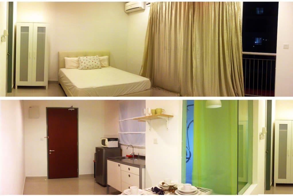 Ritze Perdana 2 studio unit interior