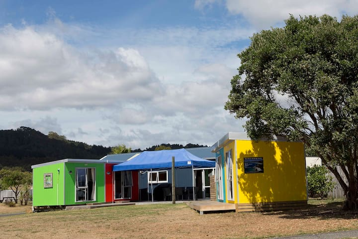 The Bright Boat Sheds @ Cooks Beach