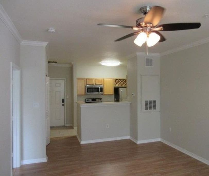 Open and spacious layout