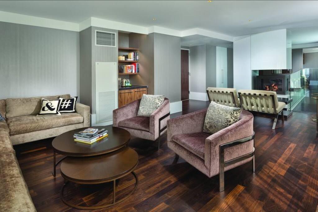 33rd floor Sky Lounge