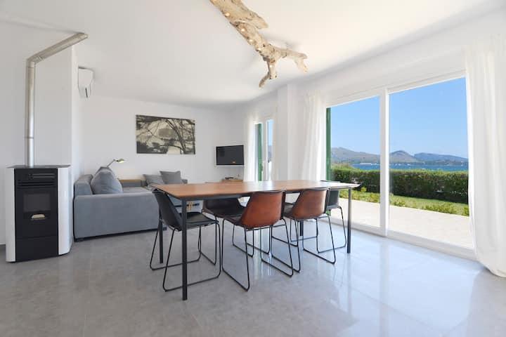 Apartamento frente al mar en la bahia de Pollensa