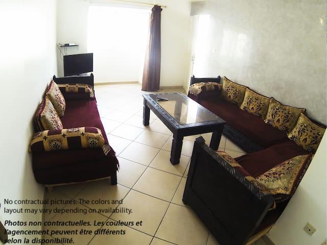Appartement centre ville Agadir - 1 Chambre - Agadir - Apartment