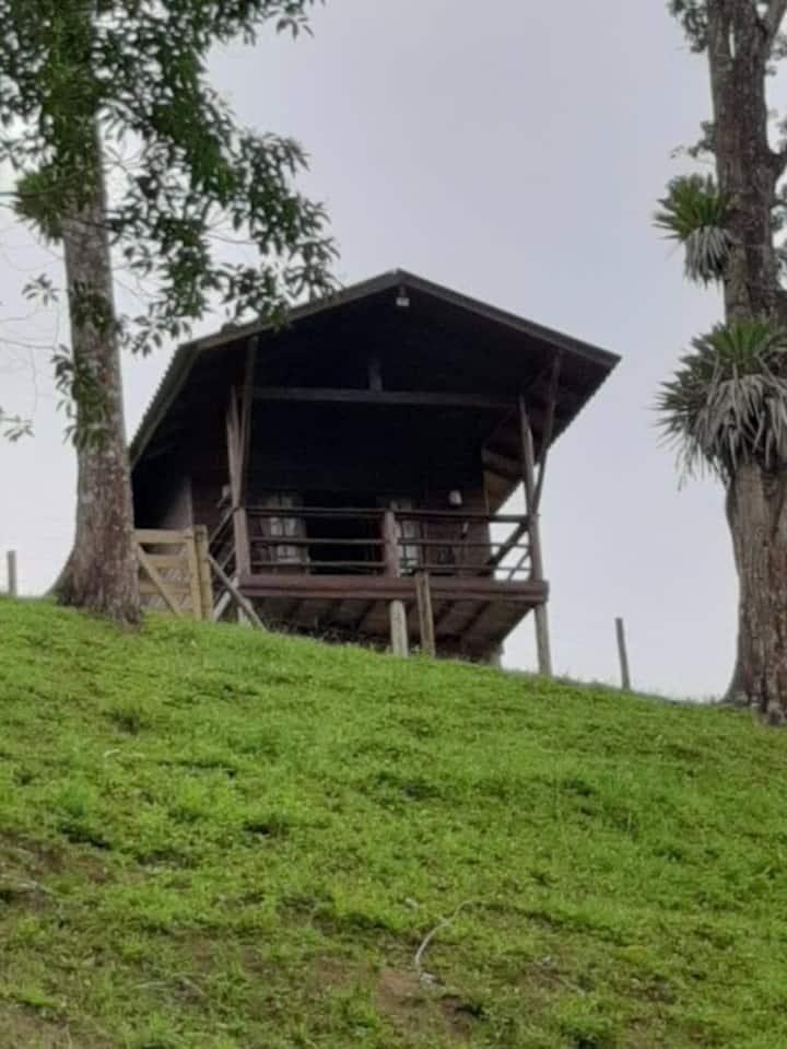 Venha conhecer a cabana do Sítio Fuxico.