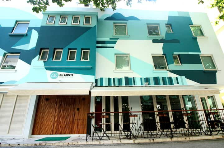 El Misti Hostel Ipanema-Dormitorio Misto 6 Camas
