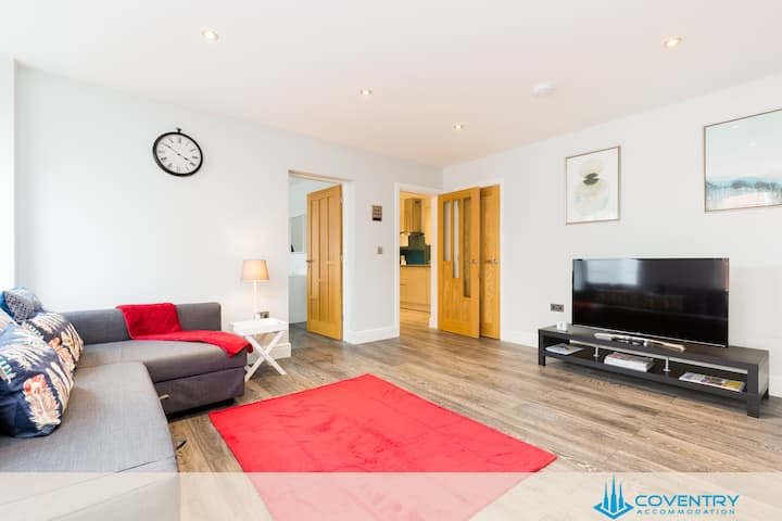 ❤️ Town Centre⭐️Sleeps 3⭐️7 mins to NEC & BHX❤️