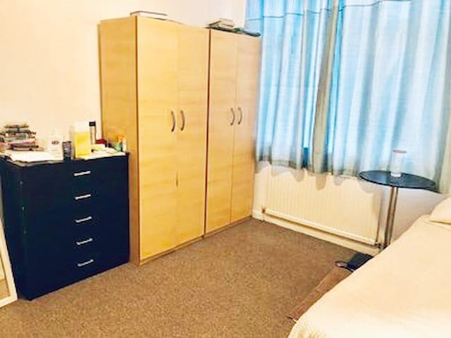 Double room with free parking & Garden