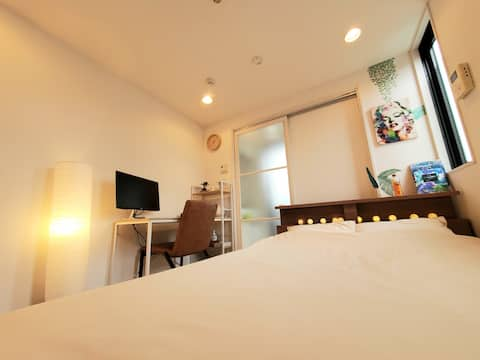 ♯801【5mins walk to HAKATA sta】Comfy small room:)