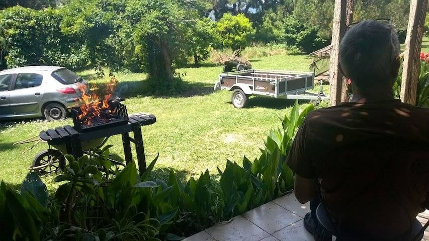 calm rental with garden - San-Nicolao - บ้าน