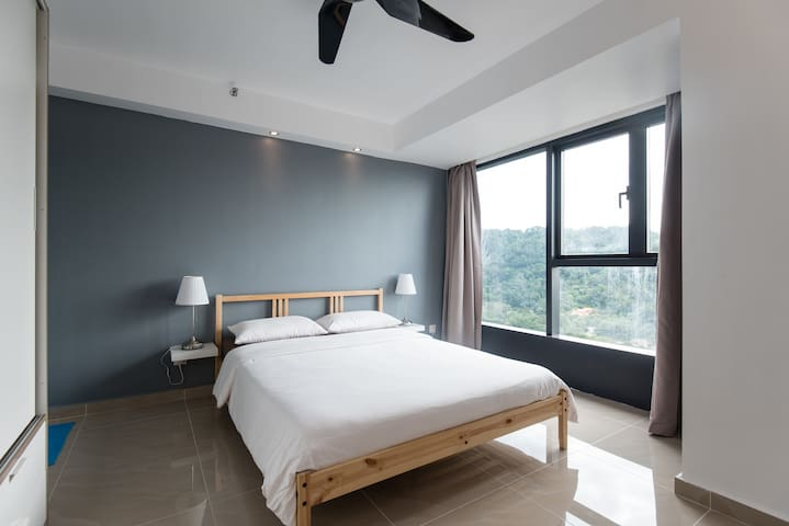 Blue Peace Cozy Home @ Damansara - Petaling Jaya - Departamento