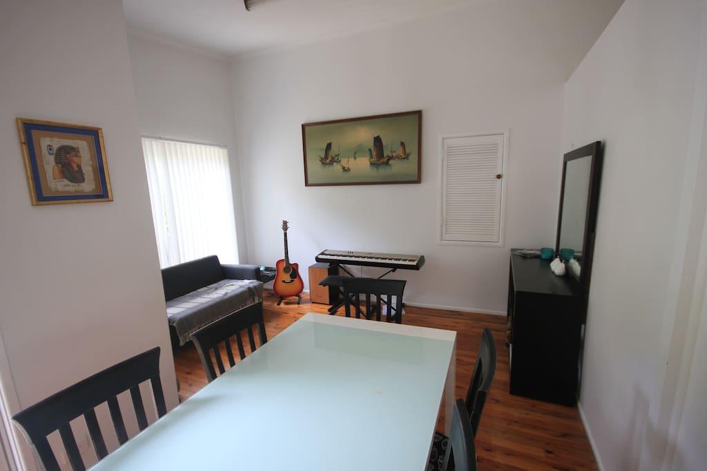 Dining/Music room