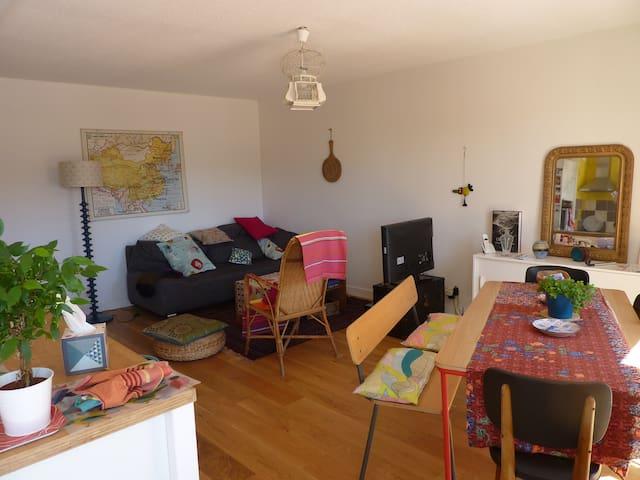 Grenoble gare, chambre privée dans appartement